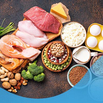consumo proteína