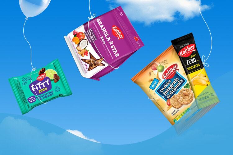 Zero Adição de Açúcares conheça os produtos da Kobber!